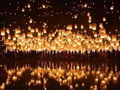 タイ・チェンマイのコムローイ祭り11月開催!ツアーやチケット情報など